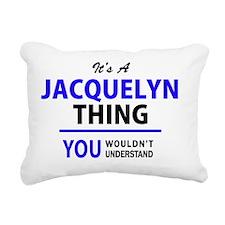 Cute Jacquelyn Rectangular Canvas Pillow