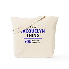 Cute Jacquelyn Tote Bag