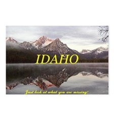Cute Idaho Postcards (Package of 8)