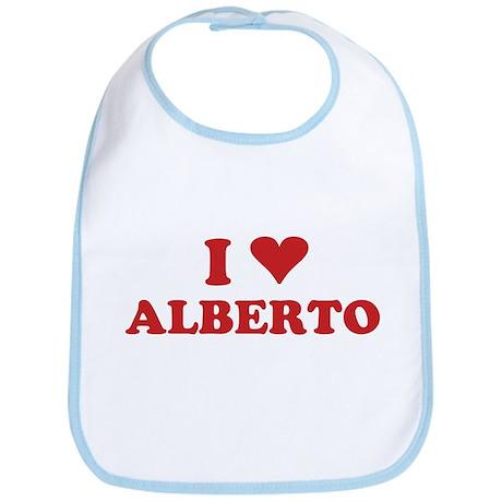 I LOVE ALBERTO Bib