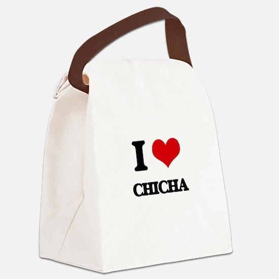 I Love CHICHA Canvas Lunch Bag