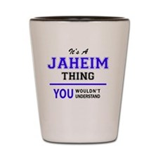 Cute Jaheim Shot Glass