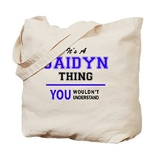 Cute Jaidyn Tote Bag