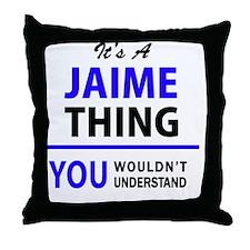 Cool Jaime Throw Pillow
