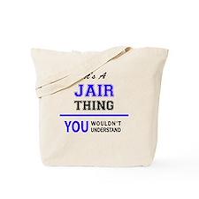 Cute Jair Tote Bag