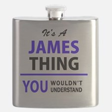 Cute James Flask