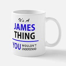Unique James Mug
