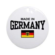 Made In Germany Ornament (Round)