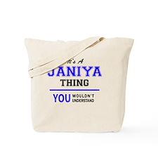 Cute Janiya Tote Bag