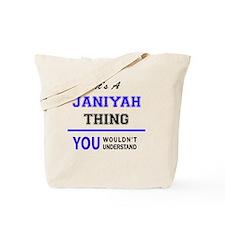 Cute Janiyah Tote Bag