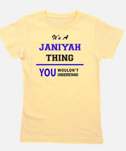 Unique Janiyah Girl's Tee