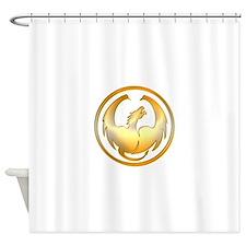 Dragon Circle Shower Curtain