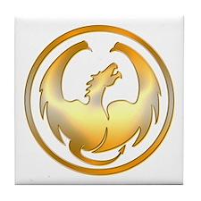 Dragon Circle Tile Coaster