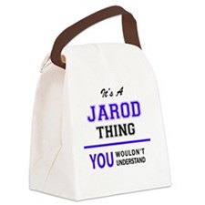 Cute Jarod Canvas Lunch Bag