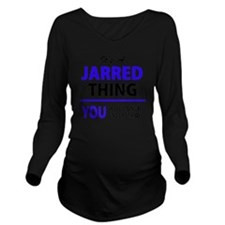 Unique Jars Long Sleeve Maternity T-Shirt