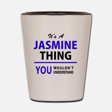 Jasmine Shot Glass