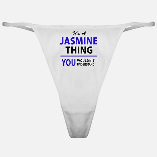 Jasmine Classic Thong