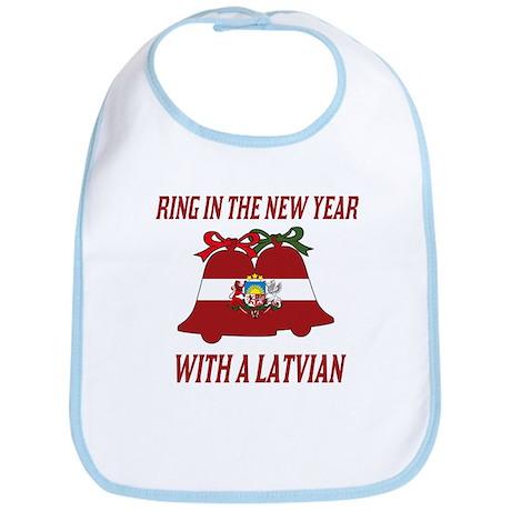 Latvian New Years Bib