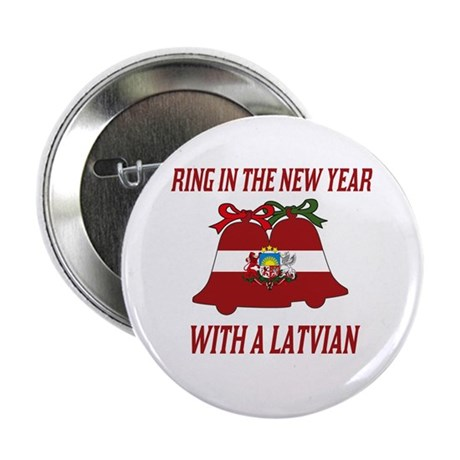 """Latvian New Years 2.25"""" Button (10 pack)"""