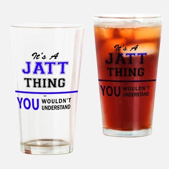 Cute Jatt Drinking Glass