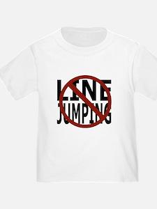 Anti-Line Jumping T