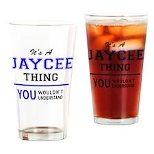 Cute Jaycee Drinking Glass
