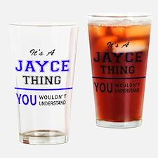 Cute Jayce Drinking Glass