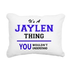 Cute Jaylen Rectangular Canvas Pillow