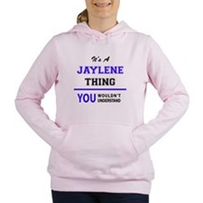 Unique Jaylen Women's Hooded Sweatshirt