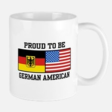 Proud To Be German American Mug