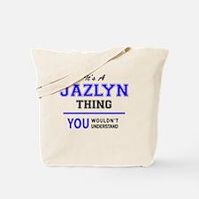 Cute Jazlyn Tote Bag