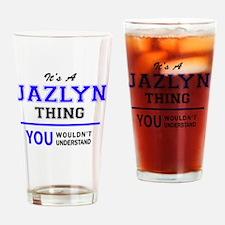 Cute Jazlyn Drinking Glass