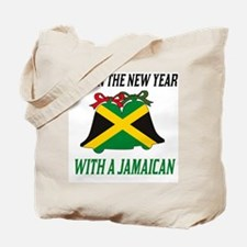Jamaican New Years Tote Bag