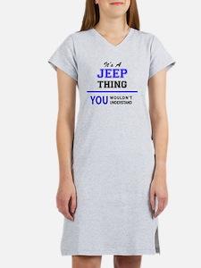 Cute Jeeps Women's Nightshirt