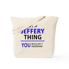 Unique Jeffery Tote Bag