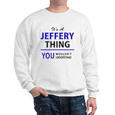 Cute Jeffery Sweatshirt