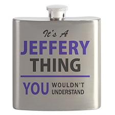 Unique Jeffery Flask
