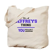 Unique Jeffrey Tote Bag