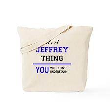 Funny Jeffrey Tote Bag