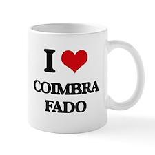 I Love COIMBRA FADO Mugs