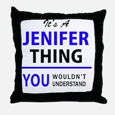 Cute Jenifer Throw Pillow
