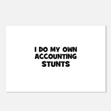 I Do My Own accounting Stunts Postcards (Package o