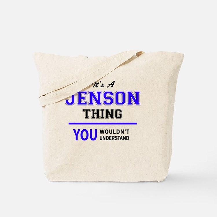 Cute Jenson Tote Bag