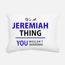 Unique Jeremiah Rectangular Canvas Pillow