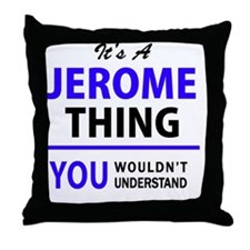 Cute Jerome Throw Pillow