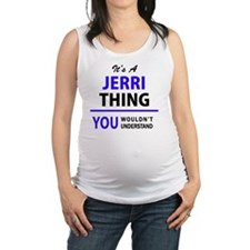 Cute Jerry Maternity Tank Top