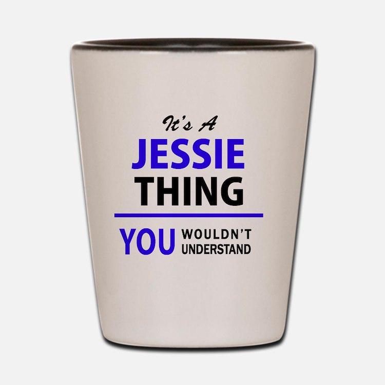 Cute Jessie Shot Glass