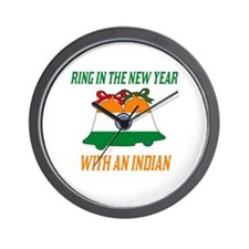 Indian New Years Wall Clock