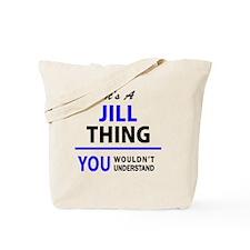 Funny Jill Tote Bag