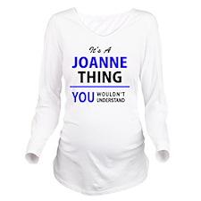 Joann Long Sleeve Maternity T-Shirt